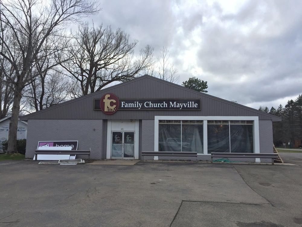 Family Church Mayville: 65 W Lake Rd, Mayville, NY