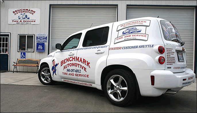 Benchmark Automotive Tire & Service: 8248 NE State Highway 104, Kingston, WA