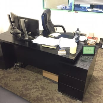 Photo Of Zuri Furniture   Dallas, TX, United States. Black Oak Ford Desk