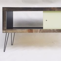 Photo Of Left Angle   Montclair, CA, United States. Reclaimed Wood Credenza  With