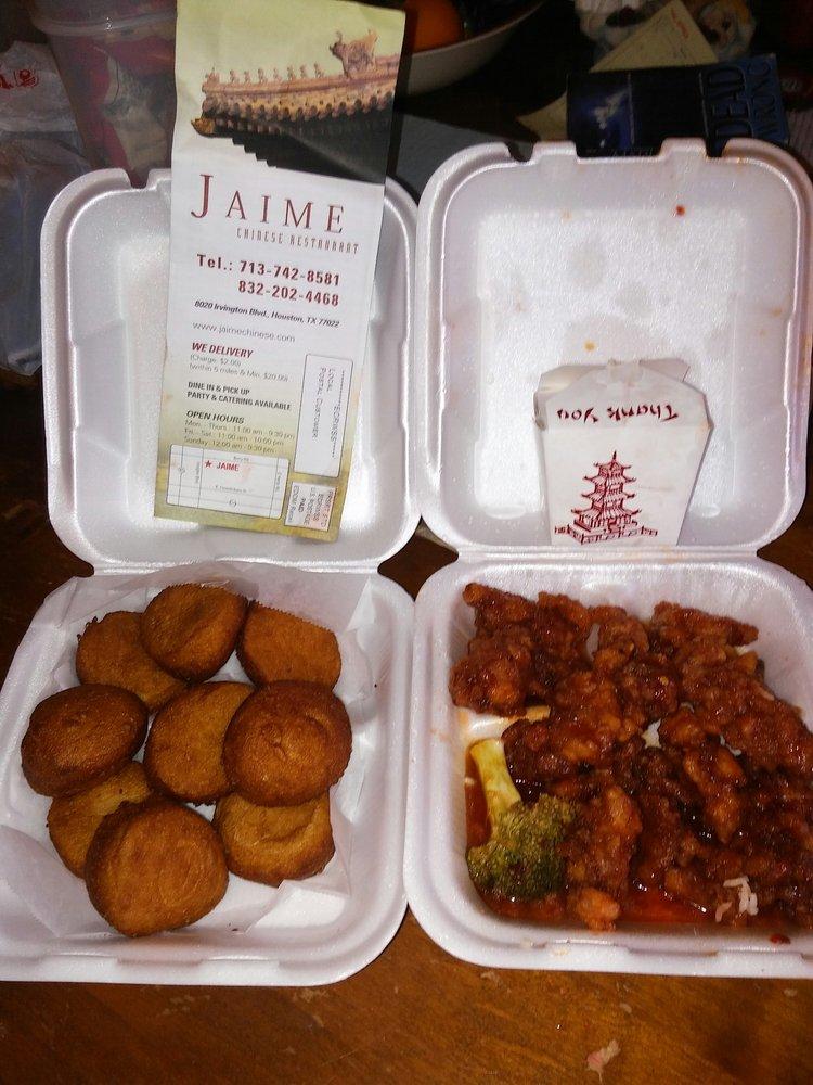 Jaime Chinese Restaurant Houston Tx