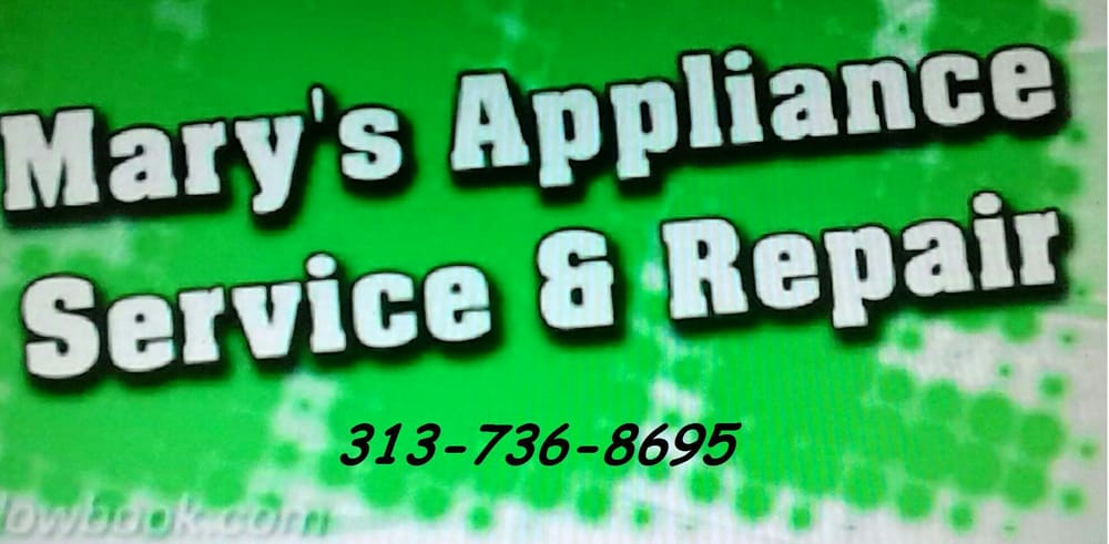Mary's Appliance Service