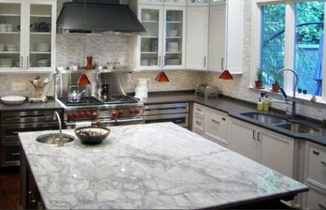 Photo Of Granite Countertops Us Columbus Ga United States Grey And White