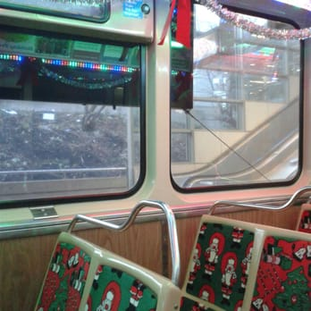 photo of cta holiday train chicago il united states let the magic