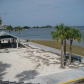Photo Of Hudson Beach Park Fl United States Sidewalk And Sea