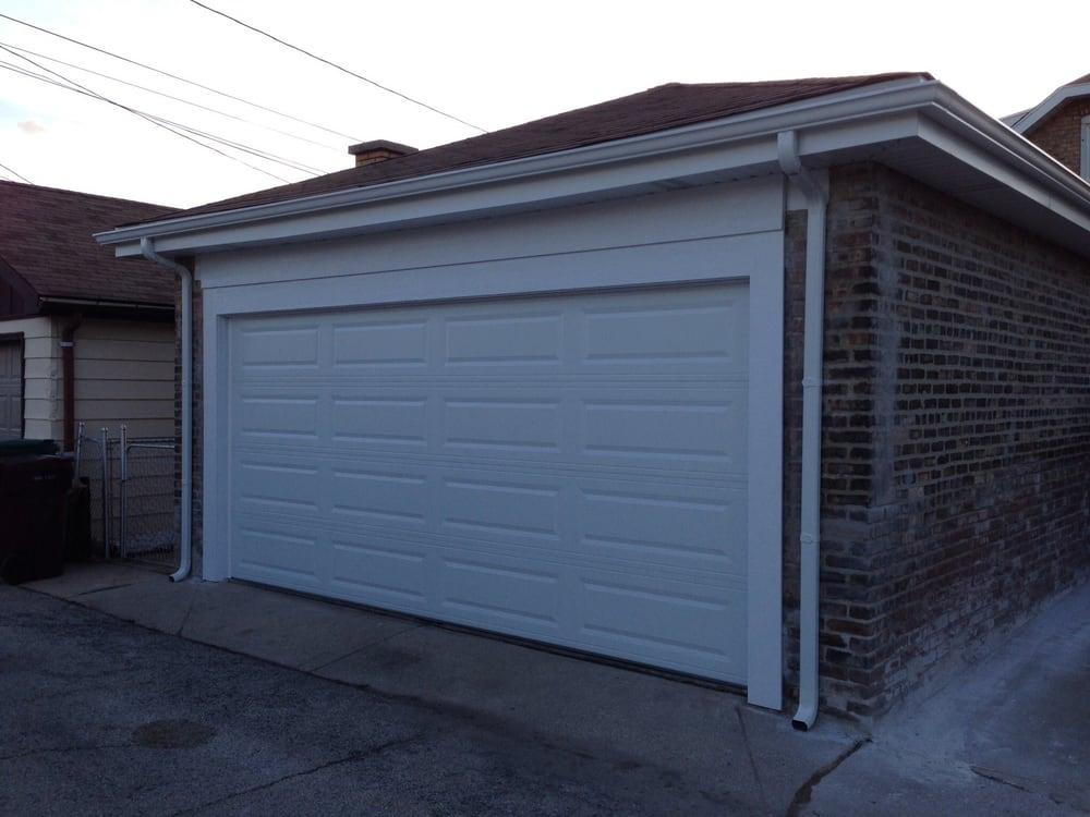 garage door fascia newly installed chi door with new