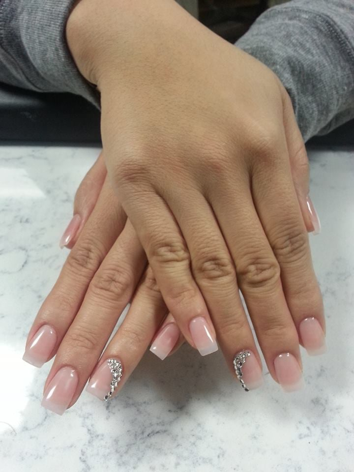 Gel Nails with Jewels - Yelp