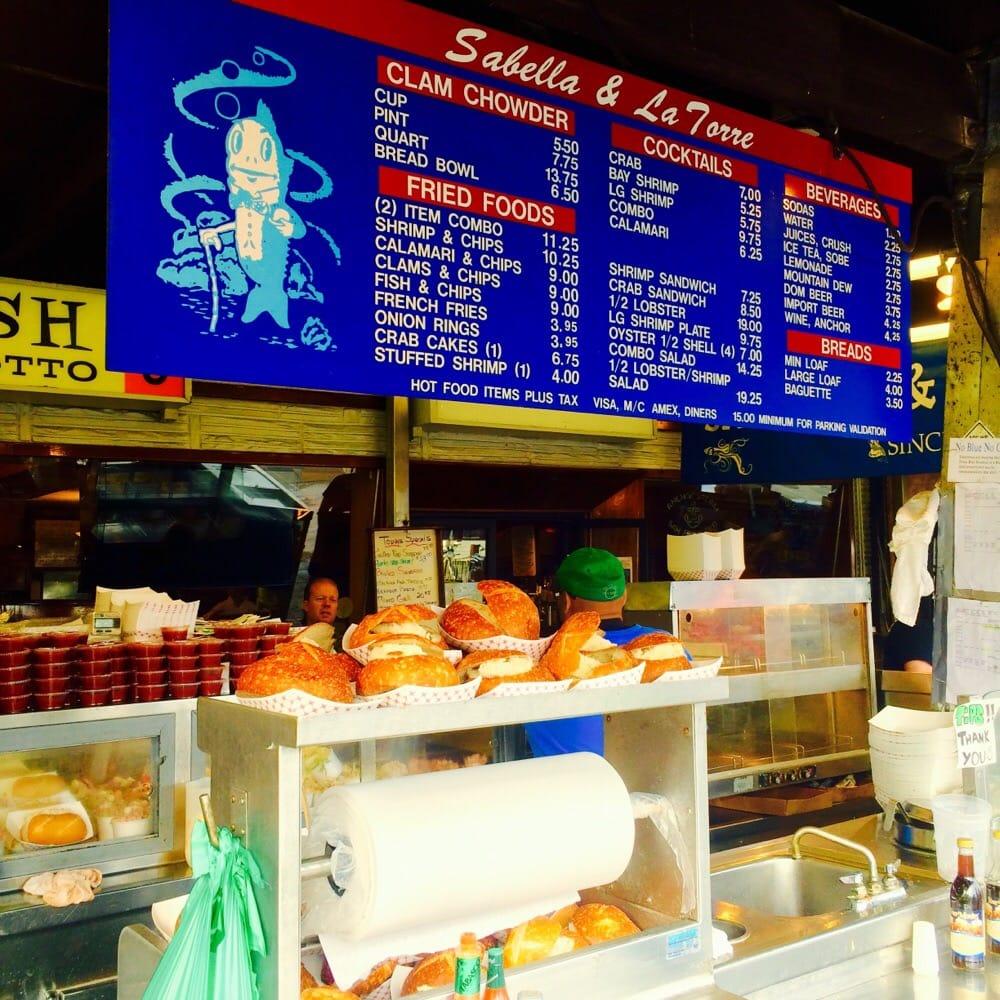Fisherman S Wharf Food Stands