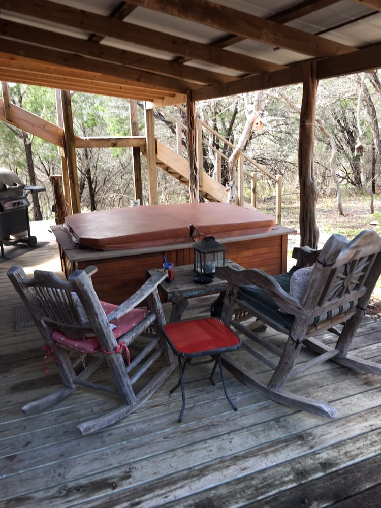I love the porch on taos yelp for Cabins near glen rose tx
