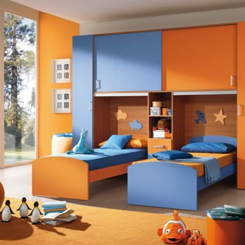 Kids Furniture Brooklyn NY. Modern Italian affordable kids ...