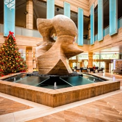 Photo Of Intercontinental Miami Fl United States Henry Moore Spindle Sculpture