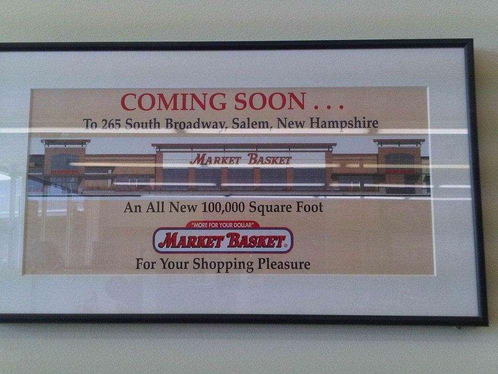 sign in store showing plans for new 100k sq ft market basket yelp. Black Bedroom Furniture Sets. Home Design Ideas