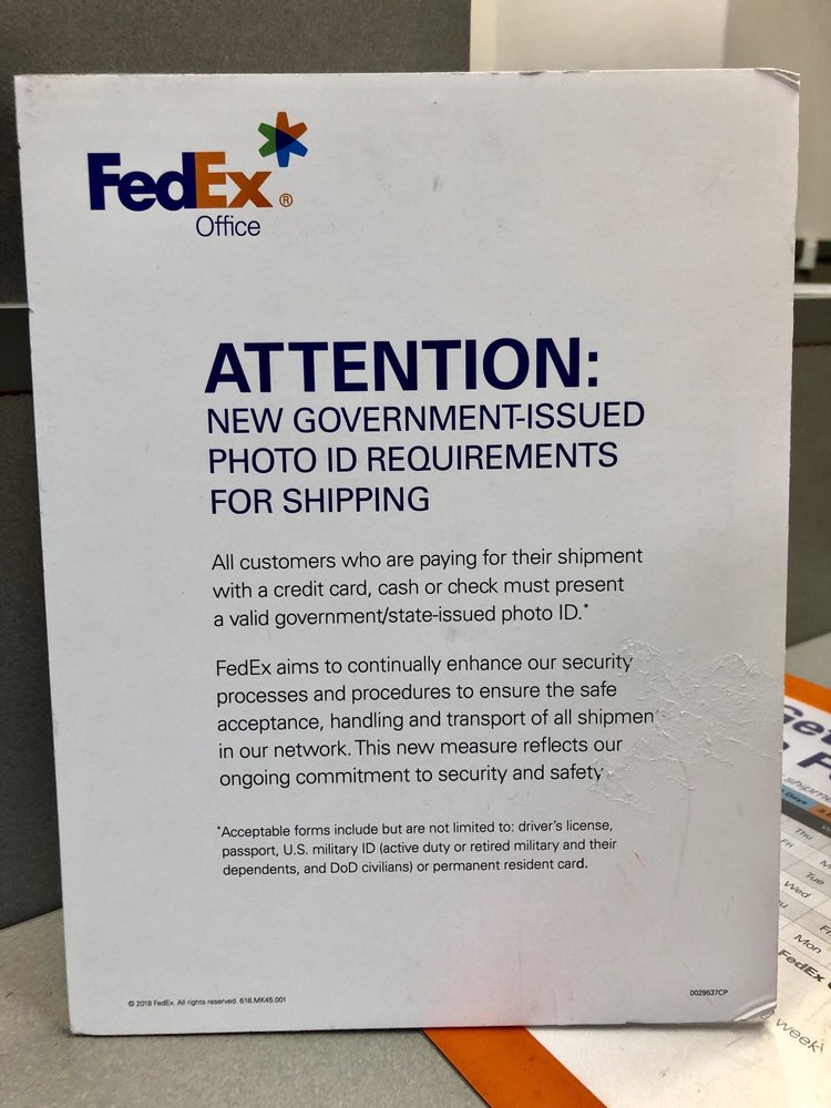 New shipping standard(s) - Yelp