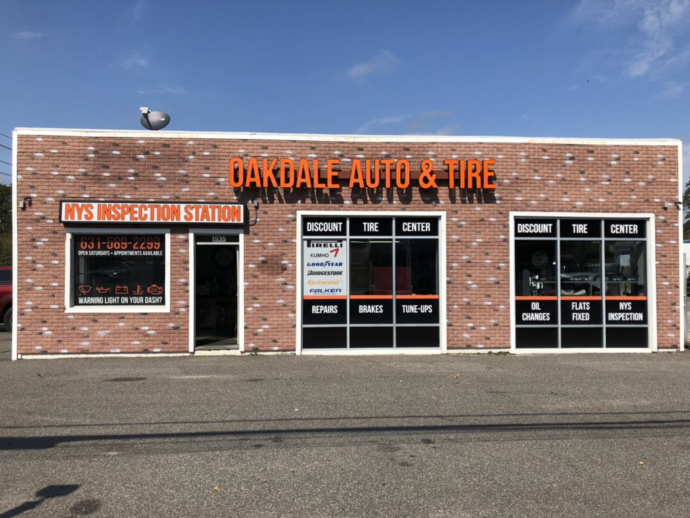 Oakdale Auto and Tire: 1535 Montauk Hwy, Oakdale, NY