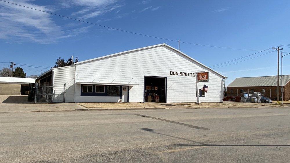 Don Spotts Lumber Company: 916 Main St, Ashland, KS