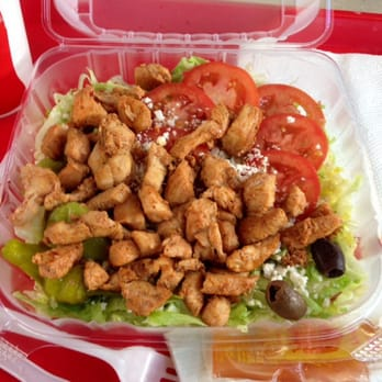 Photo Of Little Athens Gyro Augusta Ga United States Greek Salad With