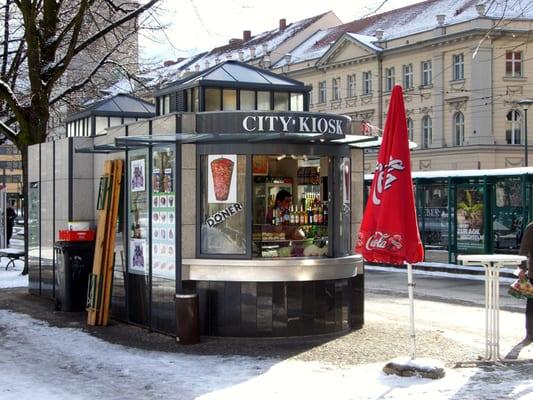 City Kiosk - Kiosk & Spätkauf - Friedrich-Ebert-Str., Potsdam ...