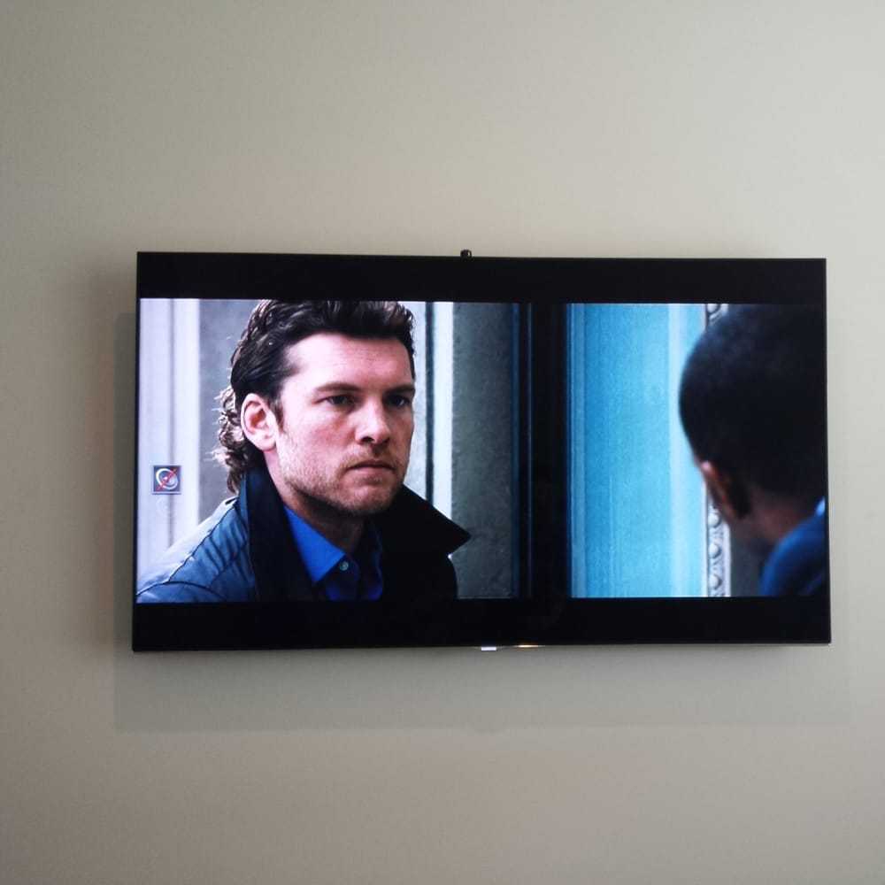 Samsung F8000 8 Series Tv Mounted Professionally By Wall