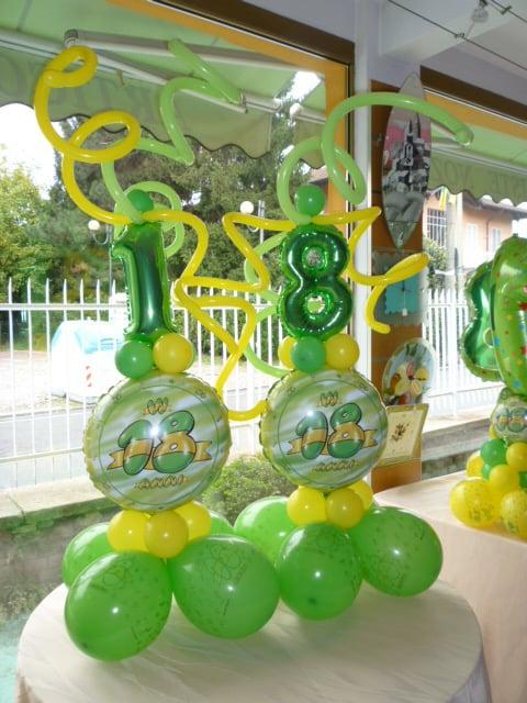 Preferenza Composizione di palloncini per festa dei 18 anni - Yelp QW22