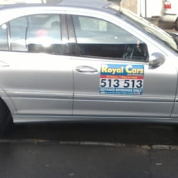 Royal Cars Taxi Minicabs 49a Desborough Park Road High