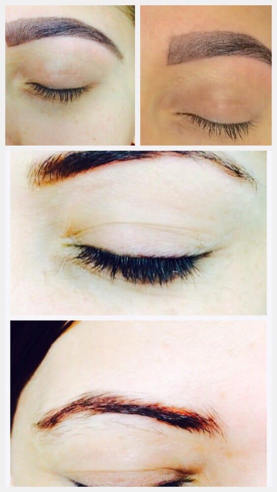 Henna Eyebrows Tattoo Eyebrows Threadin Yelp