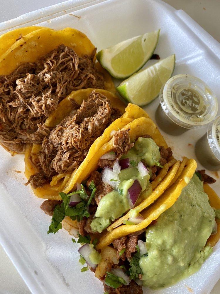 Food from Birrieria Y Tacos Alex Tijuana Style