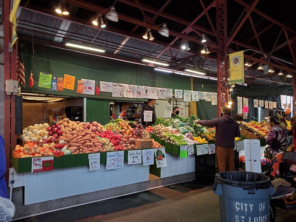 Soulard Farmers Market: 730 Carroll St, Saint Louis, MO