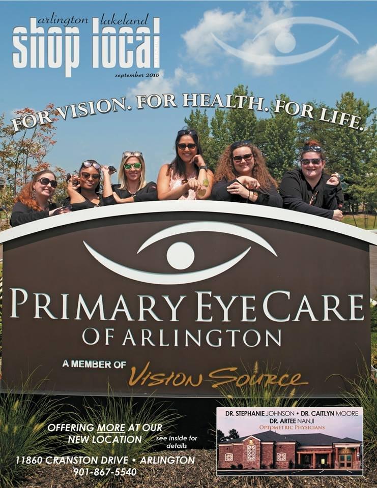 Primary Eye Care: 11860 Cranston Dr, Arlington, TN