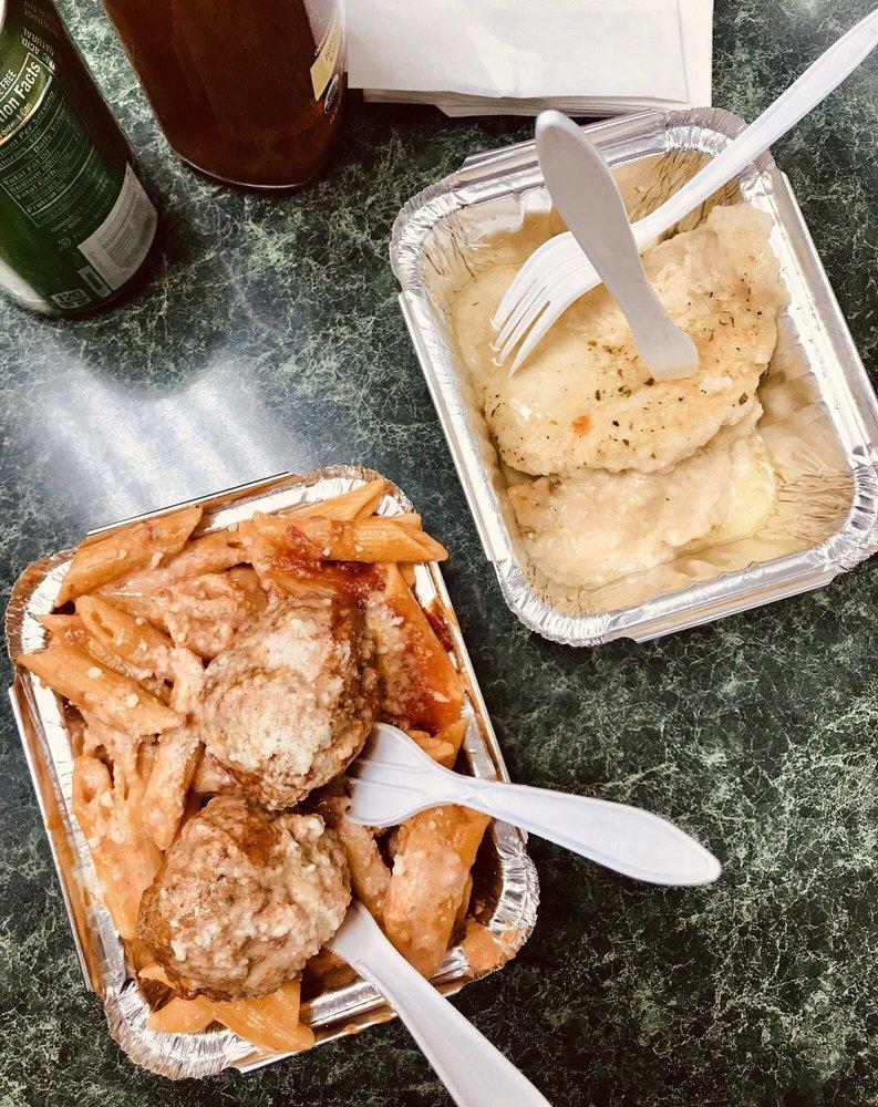 Food from Tony's Beechhurst Deli