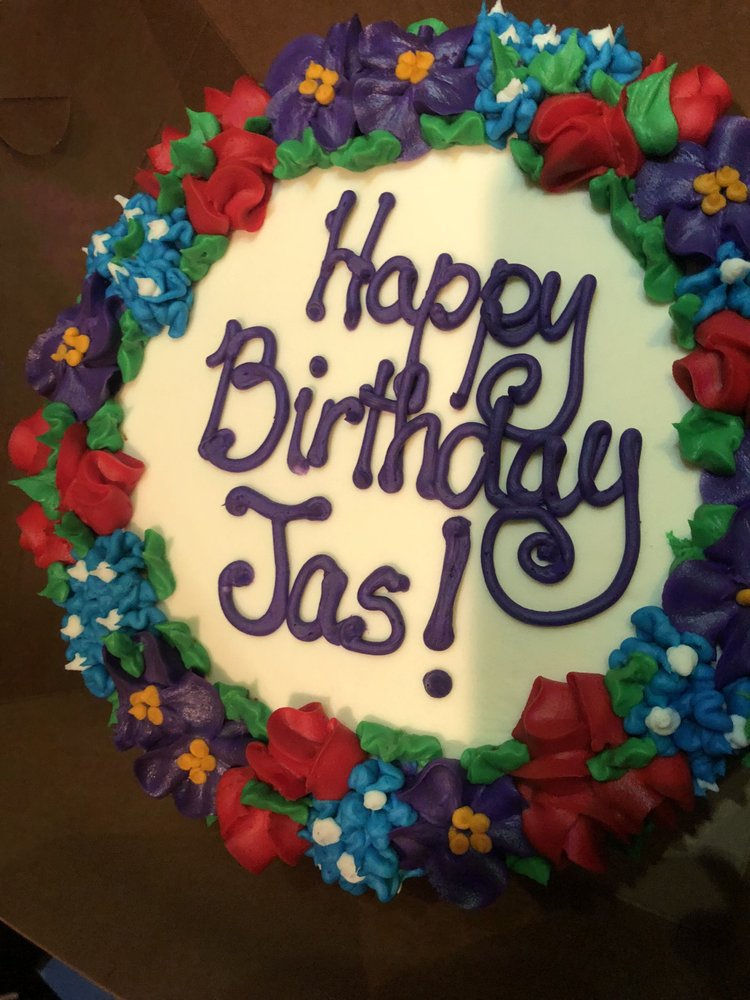 Beautiful birthday cake that they made for a special occasion Yelp