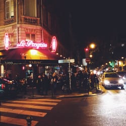 Le Progrès - Paris, France. On a five point intersection- makes for excellent people watching from a sidewalk table.