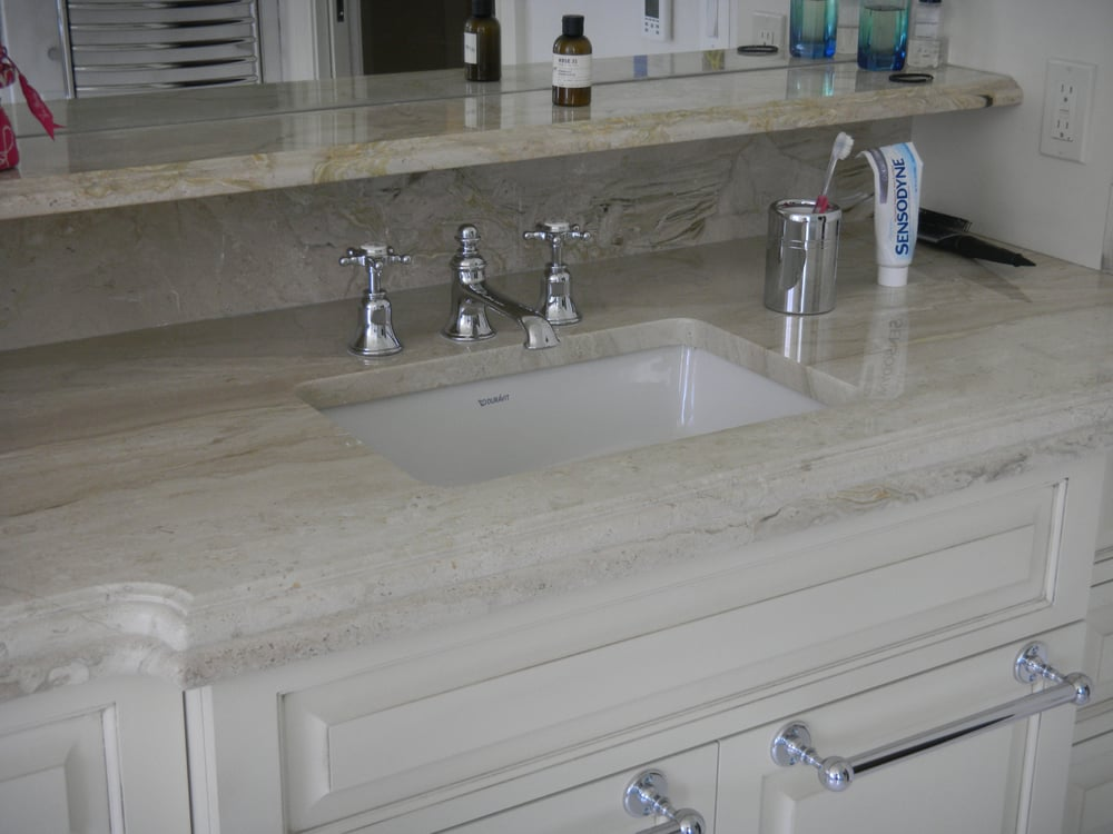 Photo Of Granite Works Countertops   Rockville, MD, United States. Crema  Marfil Marble