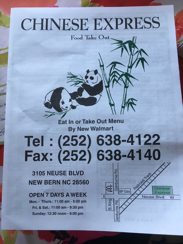 Chinese Food Take Out New Bern Nc