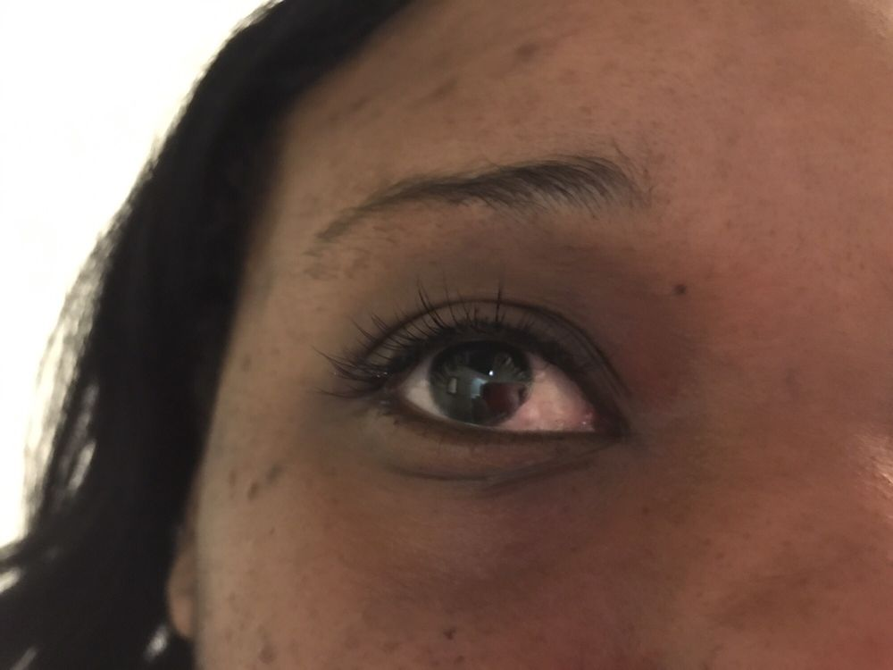 Individual eyelash extensions done by Vi - Yelp