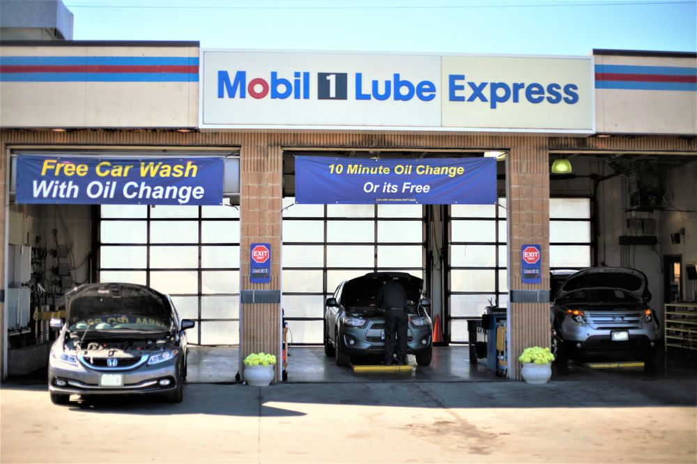 Mobil 1 Express at Kevins Car Wash