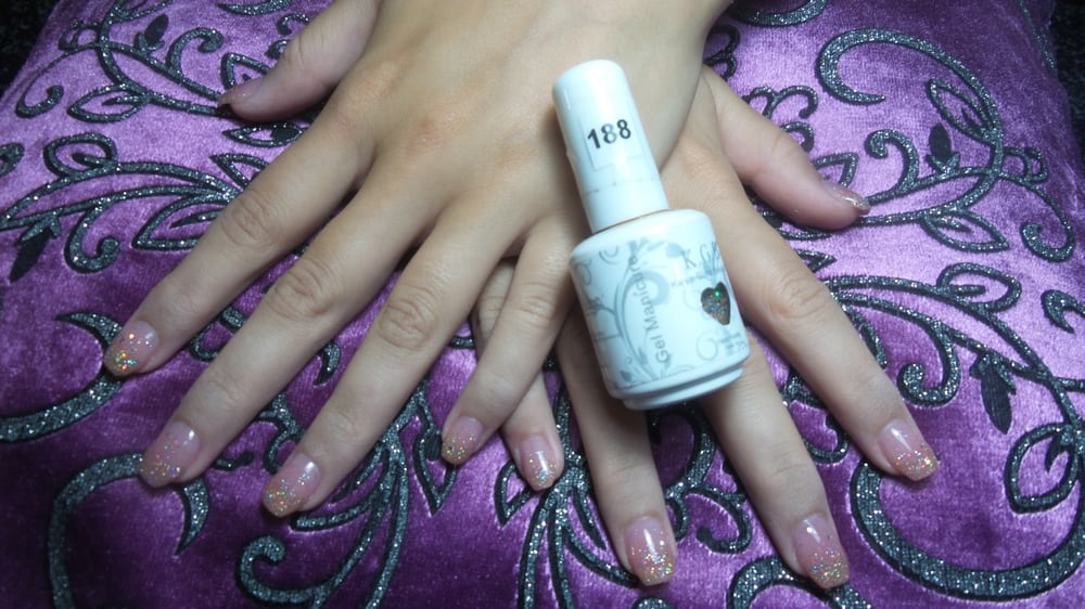 This is KGB gel polish faded french - Yelp