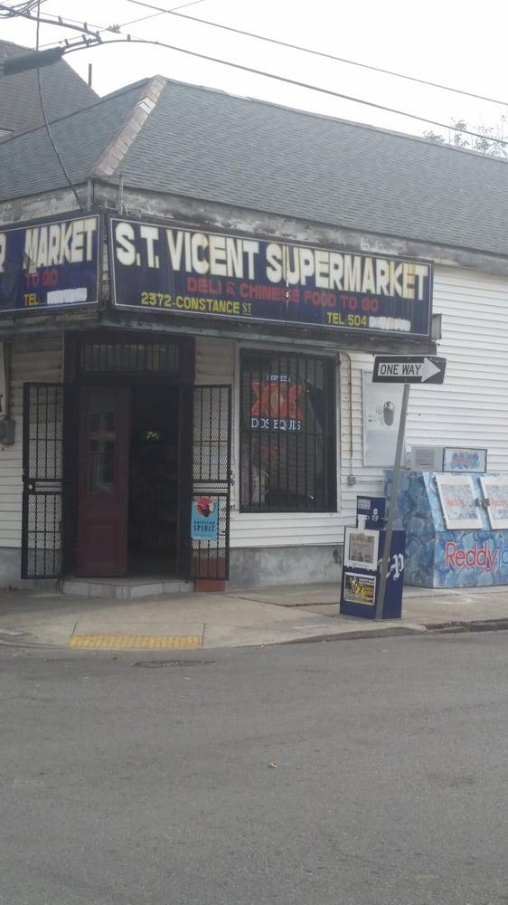 St Vincent Supermarket Vietnamese 2372 Constance St Lower Garden District New Orleans La