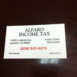 Alfaro income tax service 12 reviews tax lawyer tax services photo of alfaro income tax service lynwood ca united states colourmoves