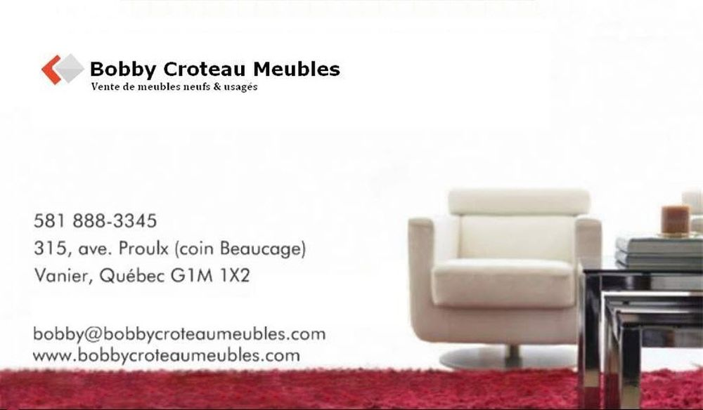 bobby croteau meubles furniture shops 315 avenue