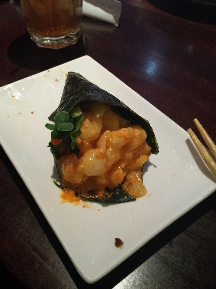 Spicy scallop hand roll amazeballs yelp - Shogun japanese cuisine ...