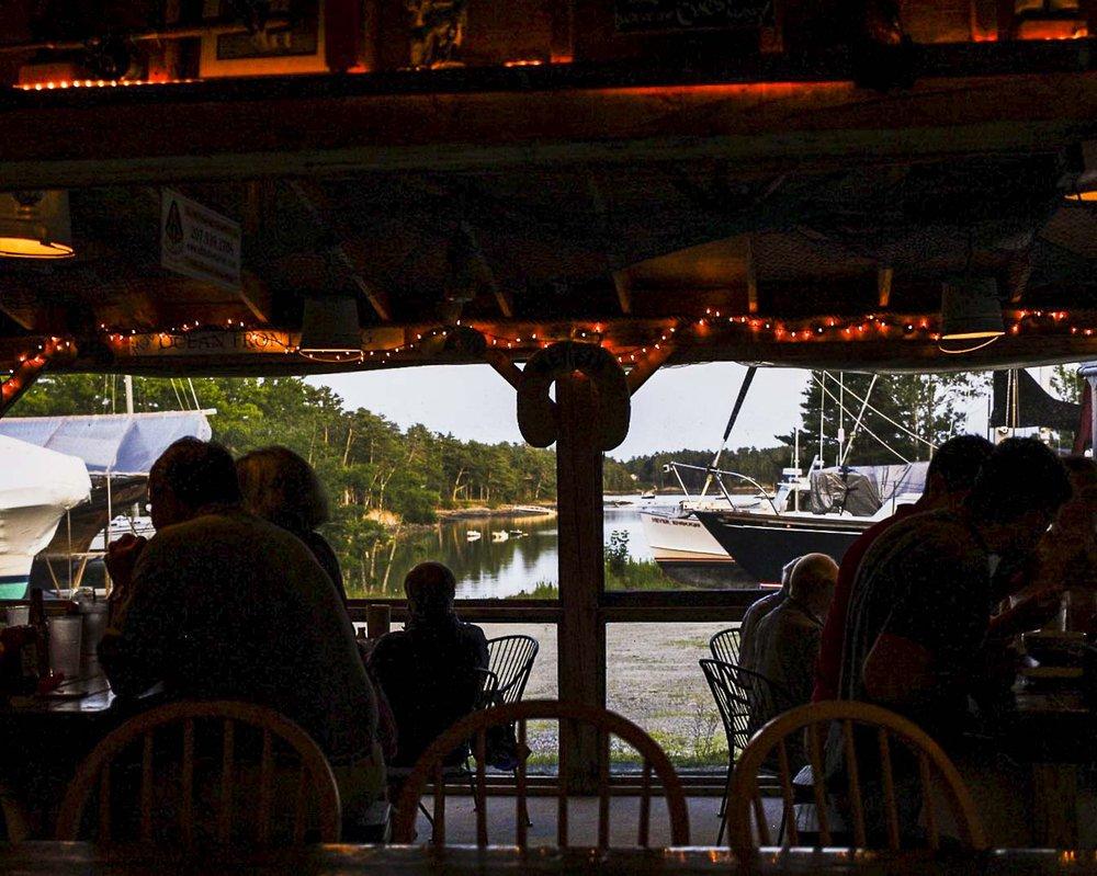 Boatyard Grill: 13 East Blue Hill Rd, Blue Hill, ME
