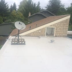 Photo Of United Roofing U0026 More   Kirkland, WA, United States. PVC Membrane