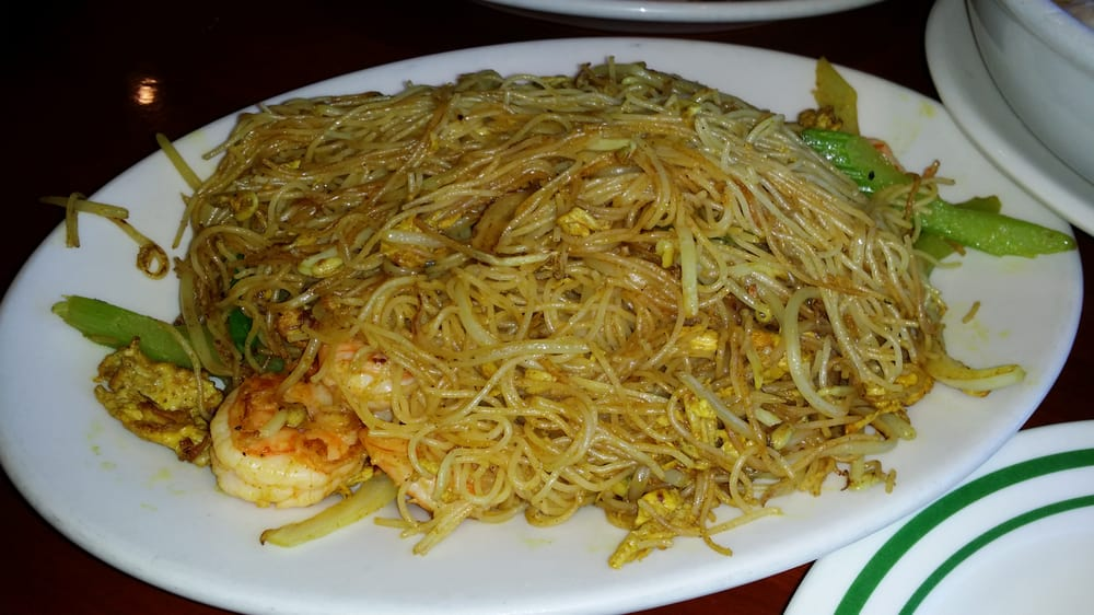 Fried singipore rice noodle yelp for Asian cuisine tulsa