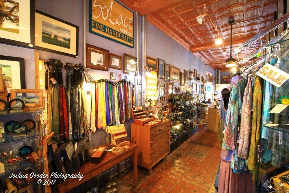 SoLace Studios Fine Handcrafts: 193 W Spotswood Ave, Elkton, VA