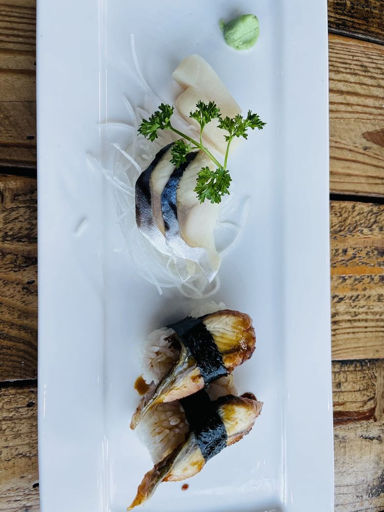 Food from Sumo Hibachi & Sushi