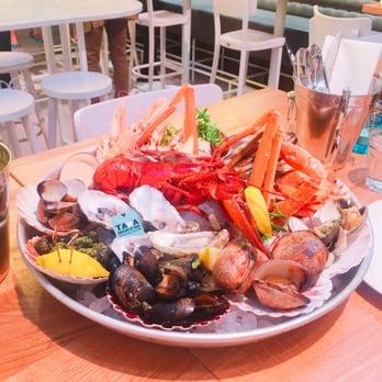 The seafood bar 101 foto 39 s 19 reviews vis for Seafood bar van baerlestraat amsterdam