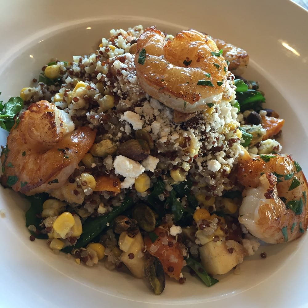Quinoa salad shrimp yelp for 13 american table boca raton fl