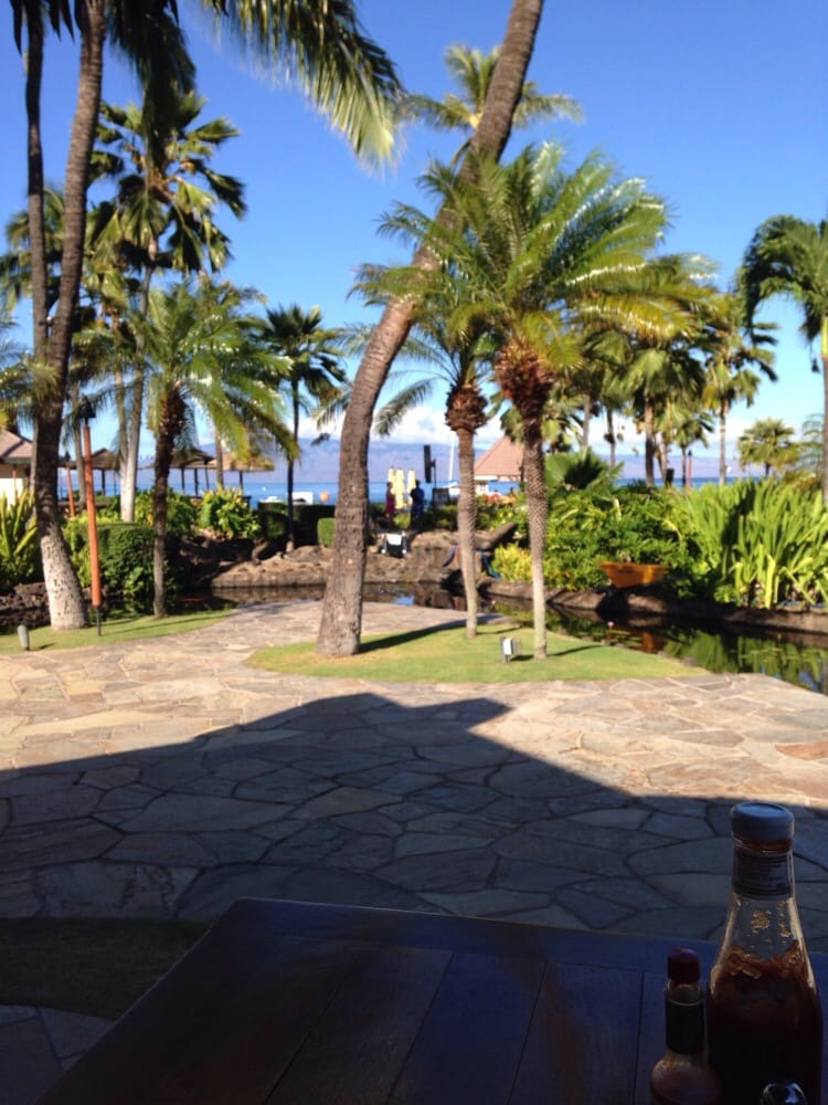 Black Rock Restaurant Maui Reviews