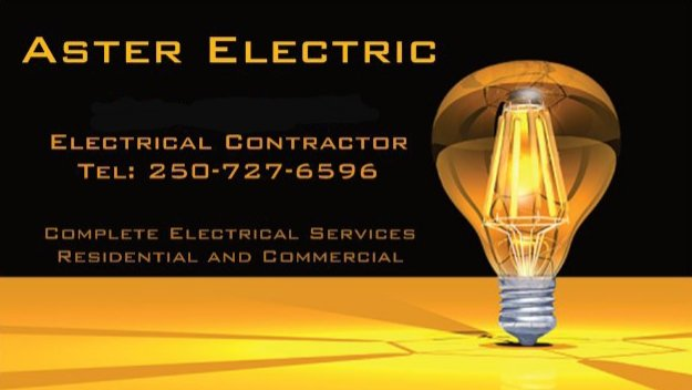 Aster Electric: Victoria, BC