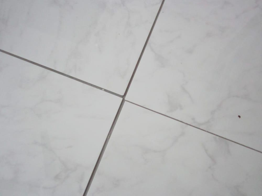 Floor Tile Not Aligned And Floor Tile Spacing Not Used Yelp